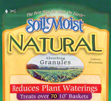 product packaging for Soil Moist Natural