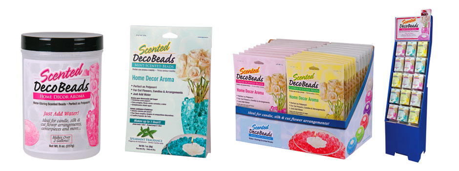 image of Scented Deco Beads packaging