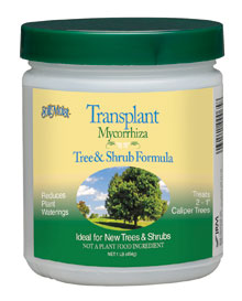 Soil Moist Transplant Tree and Shrub Formula jar