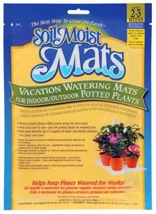 photo of Soil Moist Vacation Mats bag