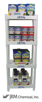 mini display rack for Soil Moist